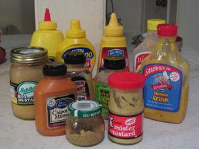 eleven kinds of mustard